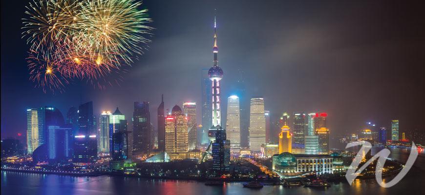 Fireworks Over Shanghai