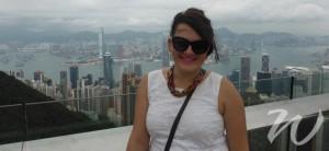 Zoe at The Peak, 48 Hours in Hong Kong