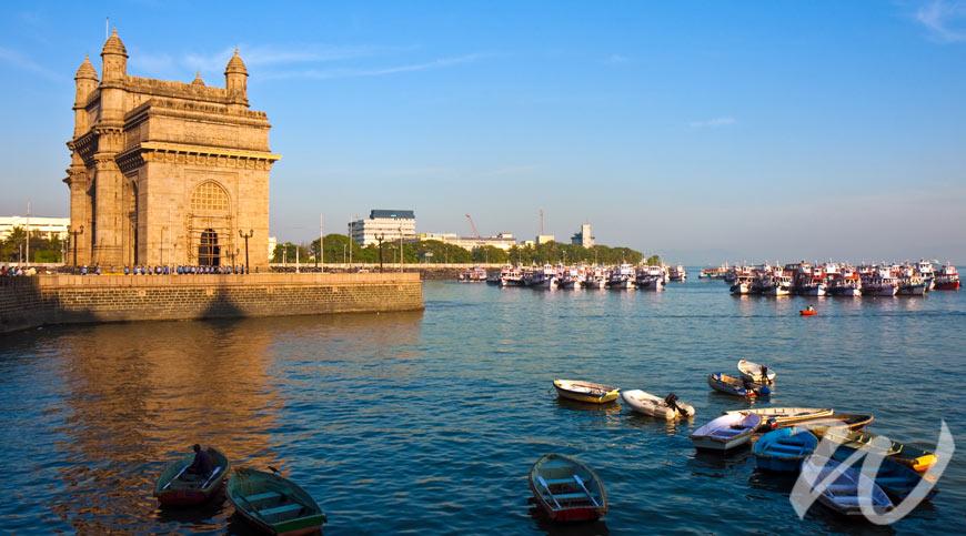 Kate Middleton and Prince William Gateway of India, Mumbai
