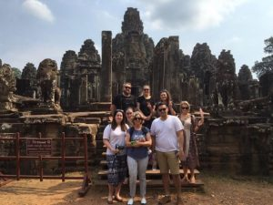 Bayon Temple Complex, Siem Reap, a whirlwind visit through Indochina