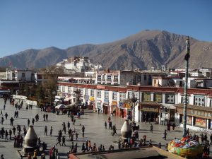 Barkhor Square, Lhasa, 48 hours in lhasa