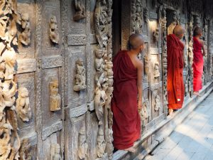 Monks In focus myanmar
