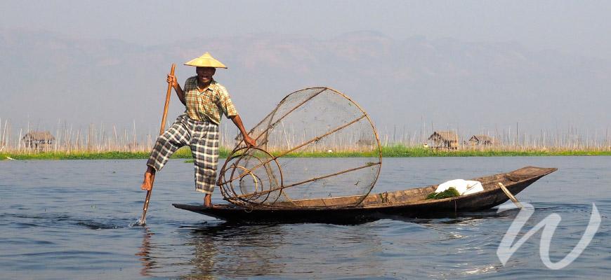 Fisherman on Inle Lake, In Focus Myanmar