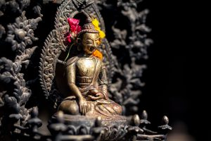 Buddha Statue Offerings