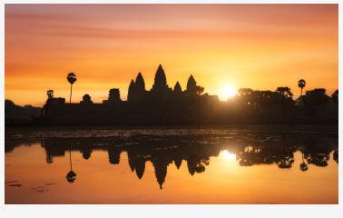 Angkor Wat Sunset, Siem Reap