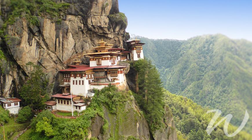 'Tiger's Nest', Paro, Bhutan, Tiger's Nest Monastery