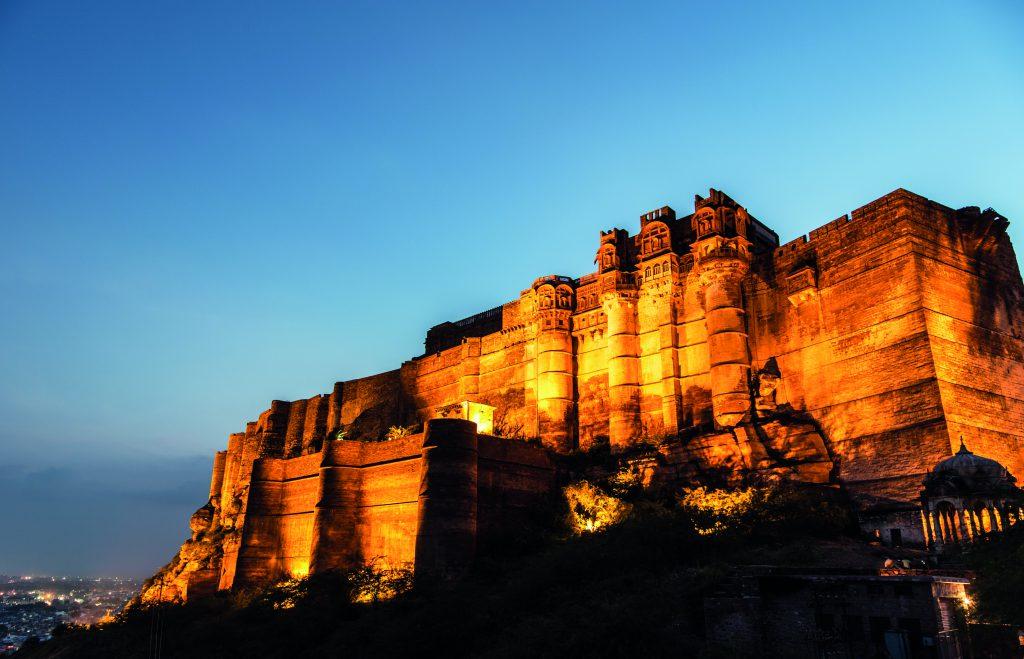 Mehrangarh Fort at night, Deluxe