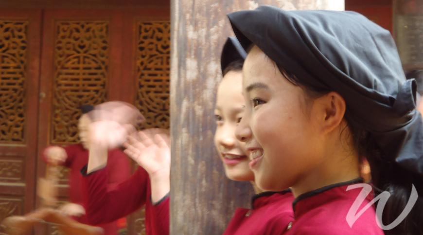 Hat Xoan Dancers Vietnam