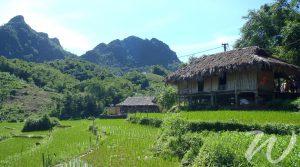 Muong Village in Hoa Binh Vietnam