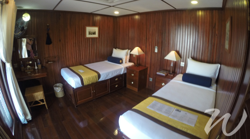 RV Angkor Pandaw Cabin