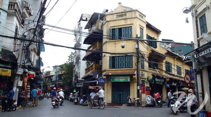 Beer corner in Hanoi, Vietnam