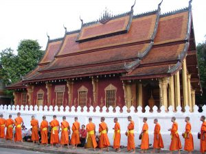 Giving of Alms, Laos, staff hotlist