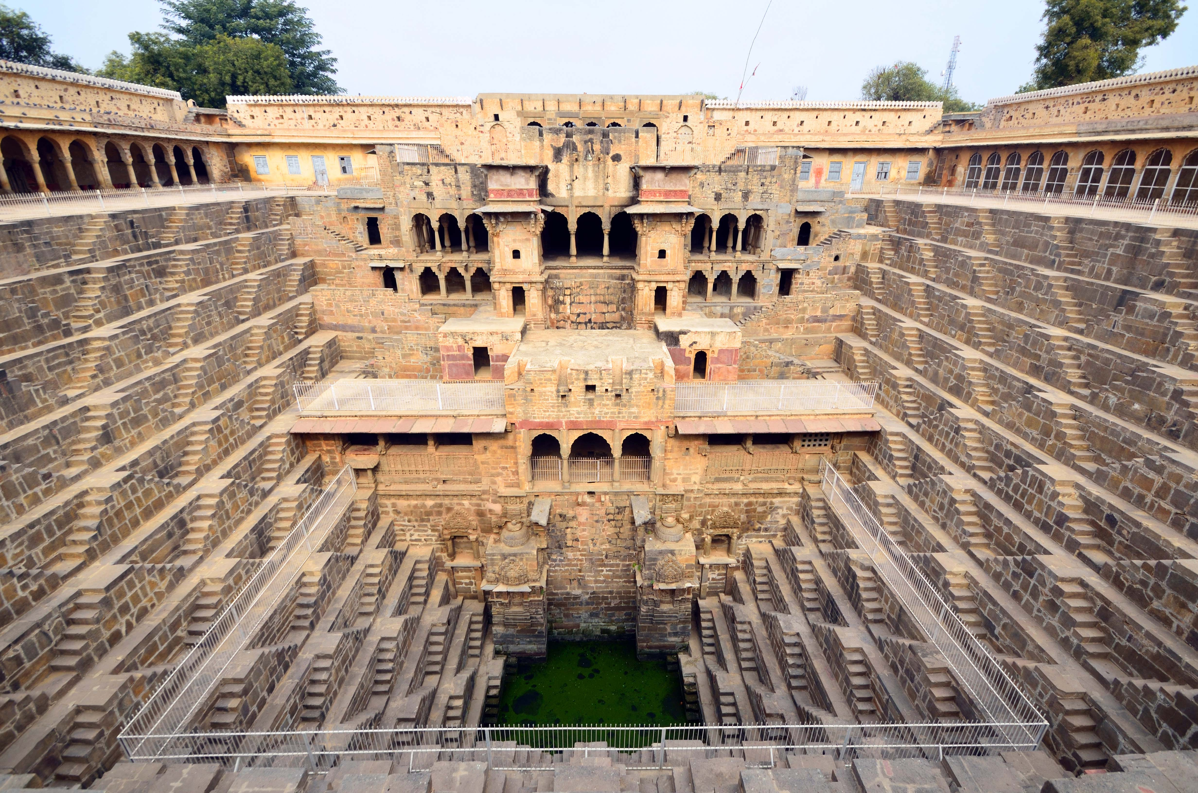Chand Baori - 1000 Stepwell, India, india's must see
