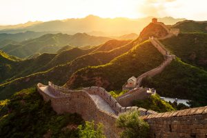 Great Wall of China, business class