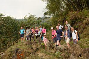 Group Trekking, Hoang Su Phi