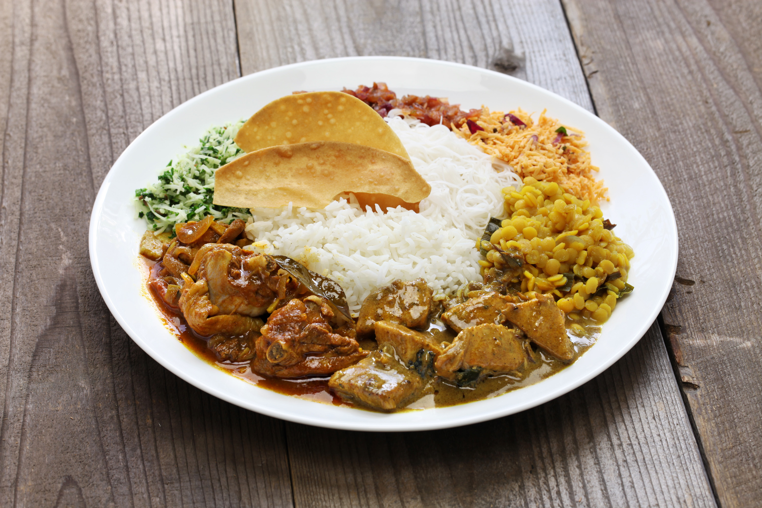 Sri Lankan curry, discover sri lanka