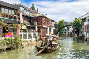 Zhujiajiao Water Town taste of china