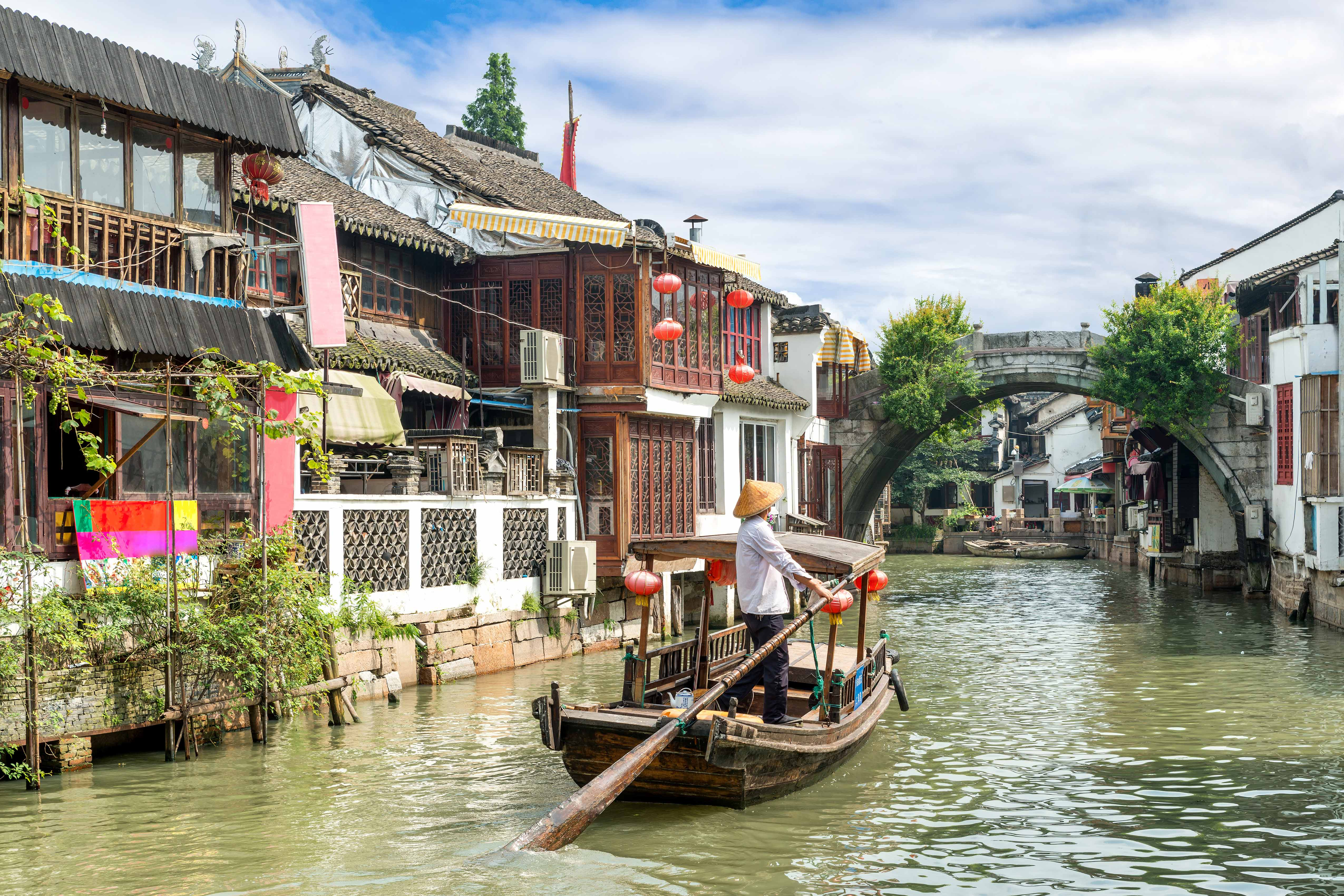 Zhujiajiao Water Town taste of china