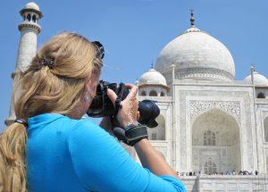 Capturing the Taj Mahal, travel photography