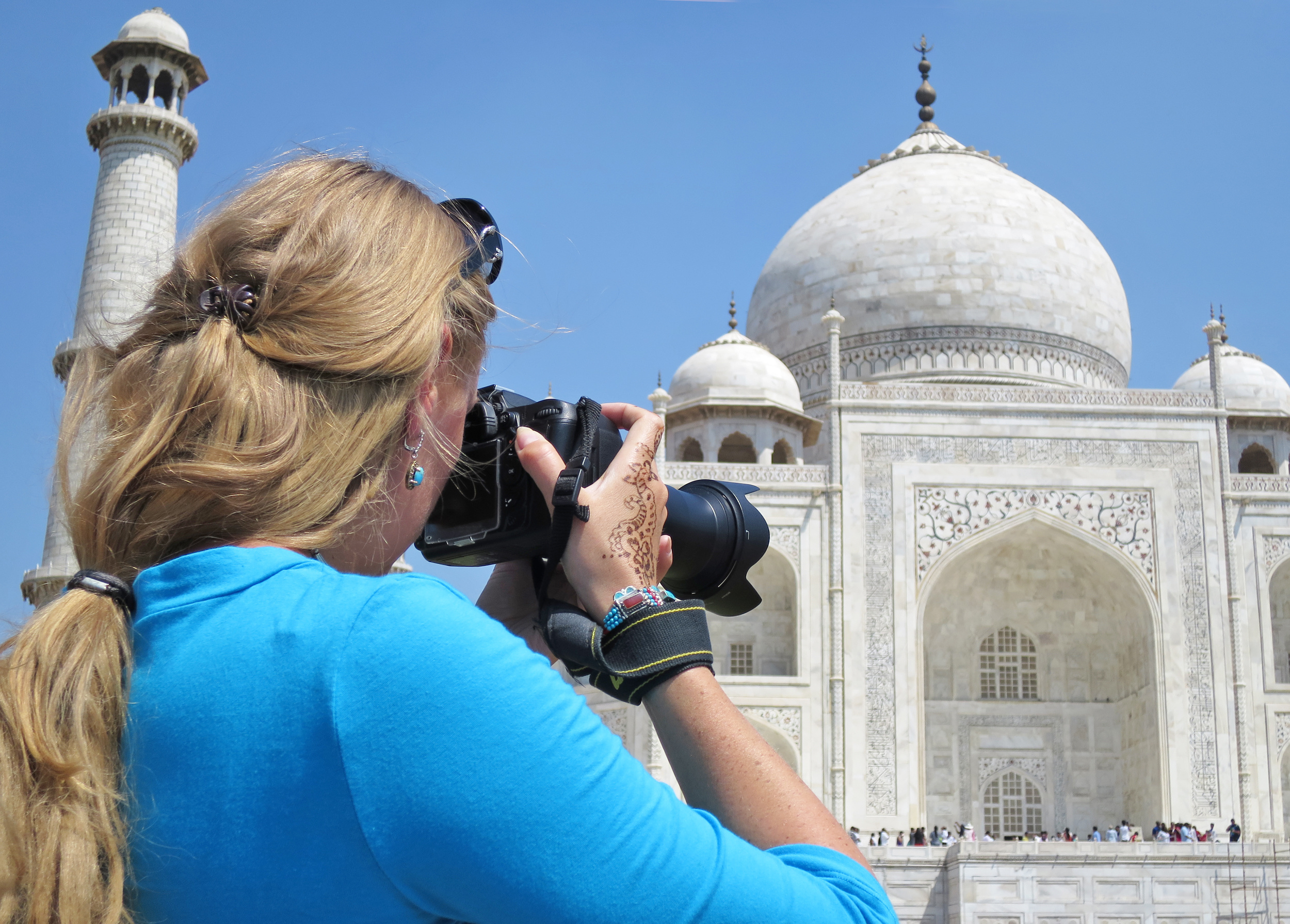 Capturing the Taj Mahal, travel photography