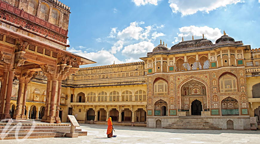 Amer Fort, Jaipur, Golden Triangle India
