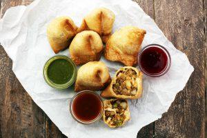 Indian Samosa, dumplings of asia