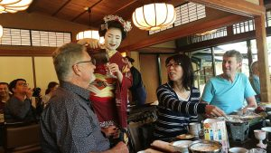 Lunch with a Maiko in Kyoto, traditional Japan