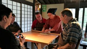Making Soba Noodles, traditional japan