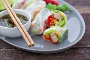 Rice Paper Rolls, dumplings of asia