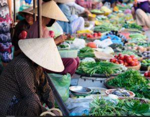 Street Markets in Vietnam, travel photography