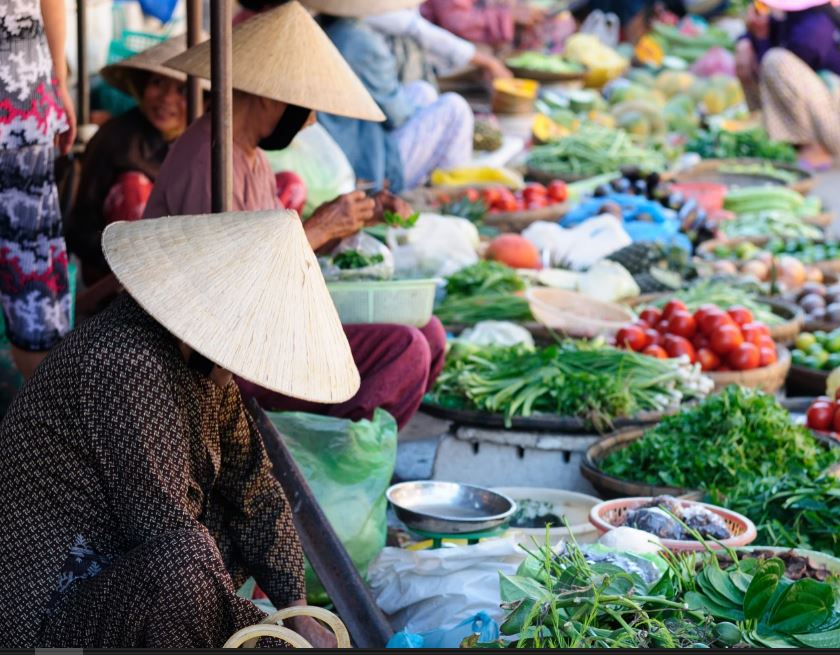Street Markets in Vietnam, travel photography