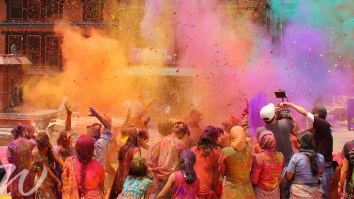 Celebration of Holi, travel photography