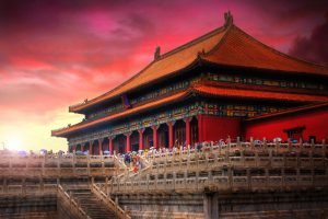 Temples of the Forbidden City, Beijing, china