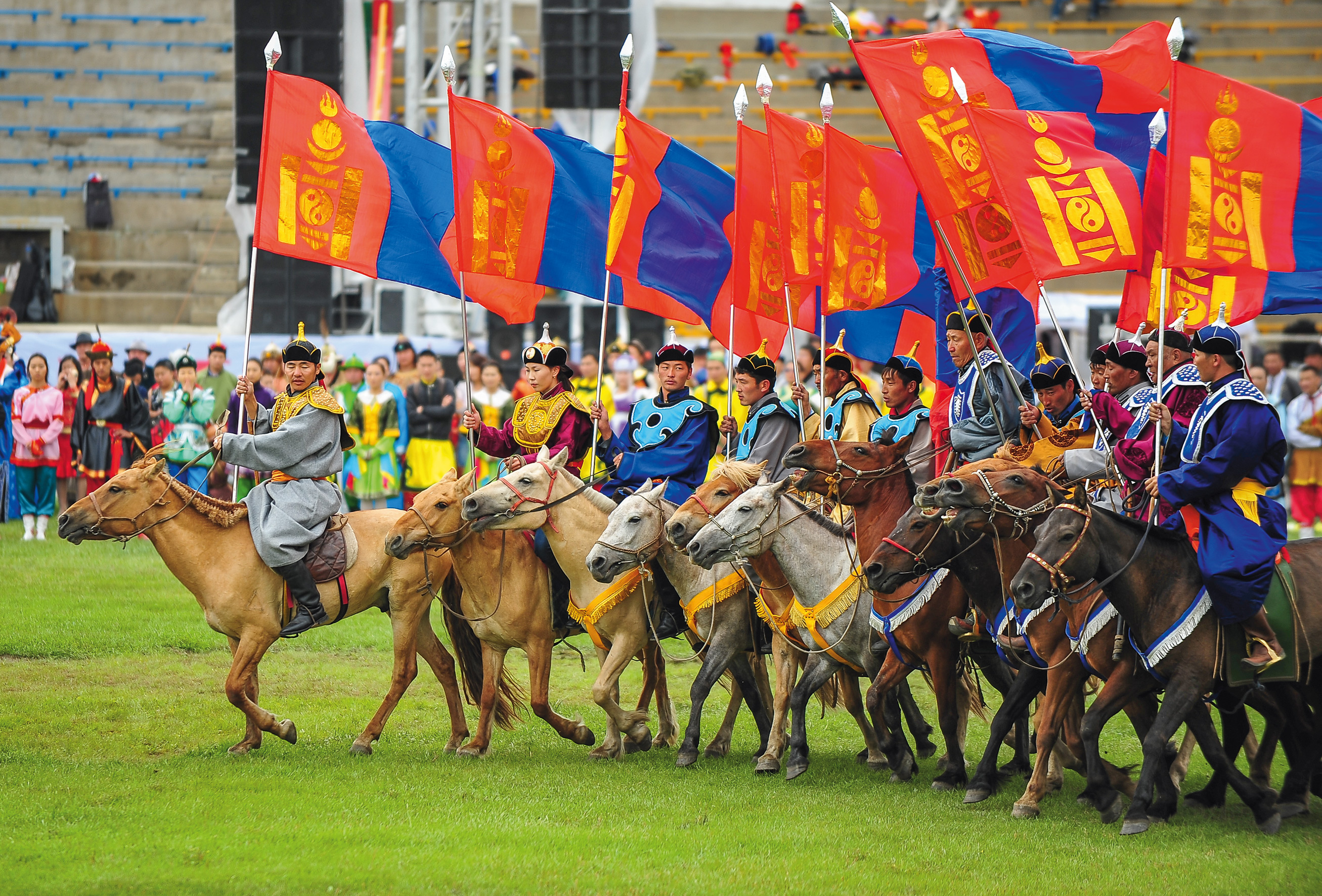 Naadam Festival Opening Ceremony, visit mongolia