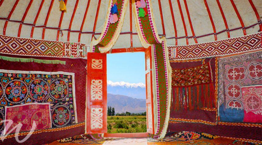 Inside a Ger, Visit Mongolia