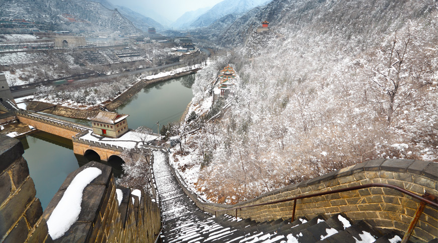 Great Wall of China, Beijing, asia winter