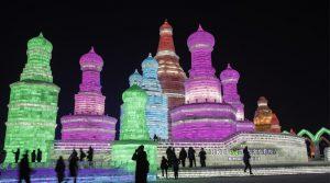 Harbin Ice Festival, asia winter