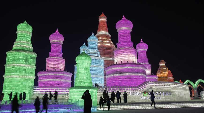 Harbin Ice Festival, asia winter