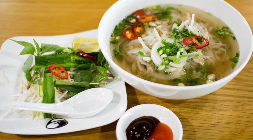 Vietnamese Pho, taste