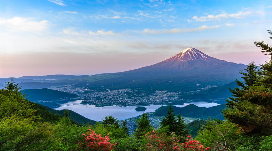 Aerial View of Mt. Fuji, Japan, travel wish list