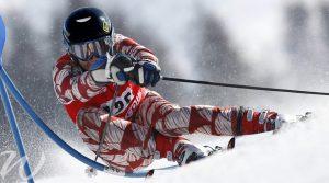 Downhill-speed, winter olympics