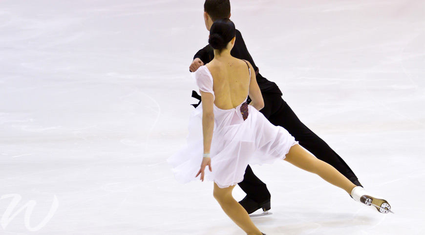 The beauty of figure skating, winter olympics