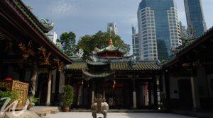 Thian Hock Keng, travel to Singapore