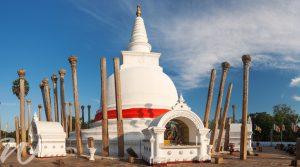 Thuparama Dagoba, Anuradhapura, tour Sri Lanka