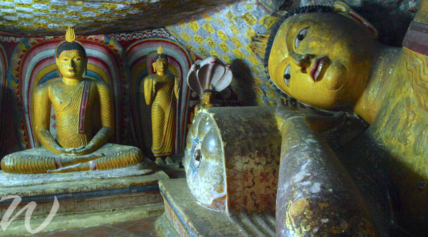 Dambulla Rock Temple, tour Sri Lanka