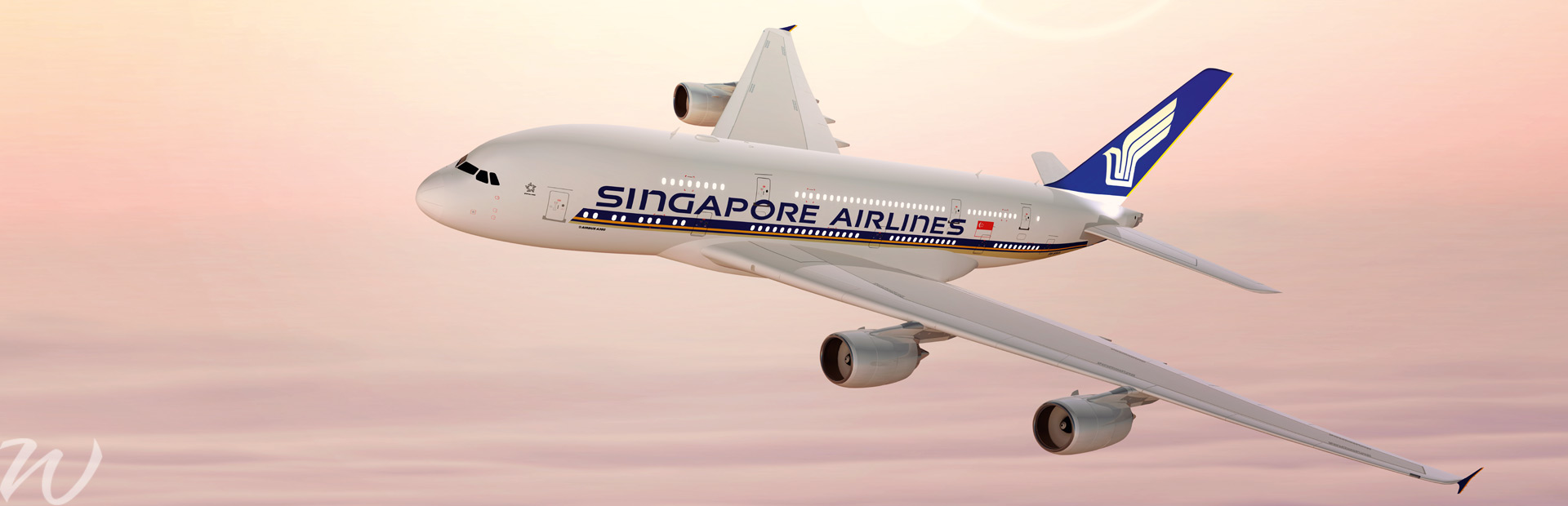 Singapore Airlines, flying safe