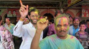 Colourful celebrations, holi festival
