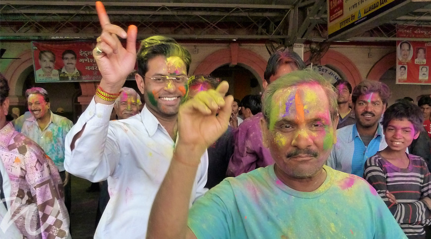 Colourful celebrations, holi festival