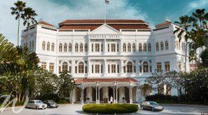 Raffles Hotel, travel to Singapore
