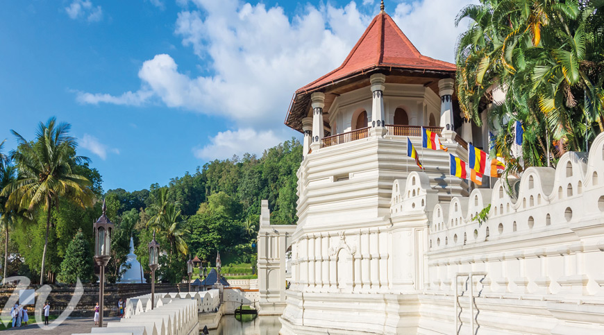 Temple of the Tooth, Kandy, tour Sri Lanka